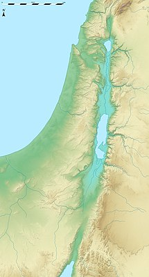 Location map Israel