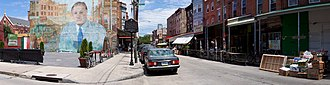 Economy of Philadelphia - The Italian Market in South Philadelphia is a major Philadelphian landmark.