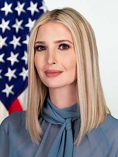 Ivanka Trump American Advisor to the President, businesswoman, and daughter of Donald Trump
