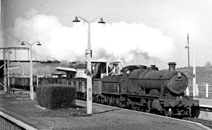 Iver railway station - VIew in 1962