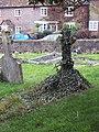 Ivy Covered Cross - geograph.org.uk - 300106.jpg