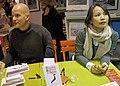 Izumi Kohama Xavier Moulin salon du livre 2012.jpg