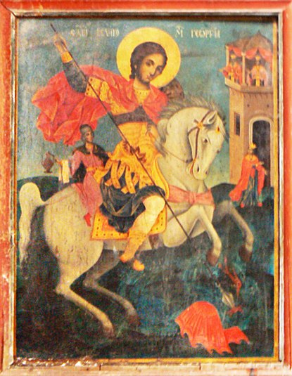Izvora-church-Saint-George-icon crop