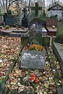 Józef Bek grób 02.JPG