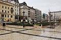 József nádor Square in the rain - November 2019.jpg