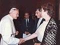 J. Schoneveld Private audience with Pope John Paul II 1984.JPG