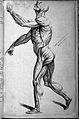 J. Tinney, Compendium anatomicum...; male ecorche Wellcome L0027875.jpg