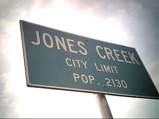 Jones Creek, Texas Village in Texas, United States