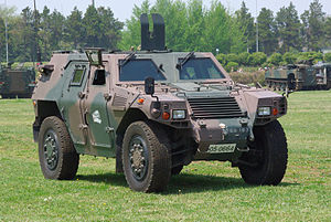 JGSDF Light Armored vehicle 20120429-01.JPG
