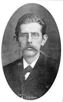 1=Danish writer Jens Peter Jacobsen