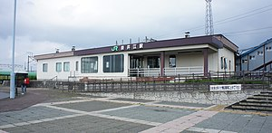 JR Hakodate-Main-Line Naie Station buildings.jpg