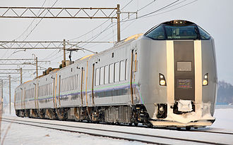 789 series - 789-1000 series on a Super Kamui/Airport service in January 2009