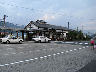 Sakashita Station Railway station in Nakatsugawa, Gifu Prefecture, Japan