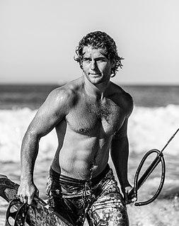 Jesse Richman American kitesurfer