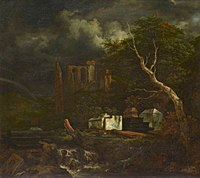 Jacob Isaacksz. van Ruisdael - The Jewish Cemetery - WGA20485.jpg