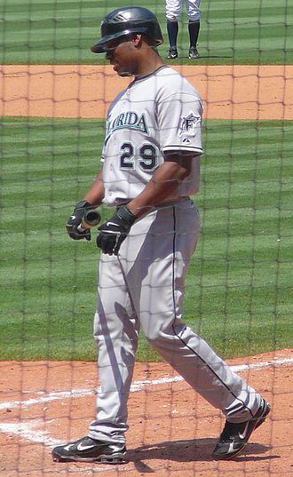 Jacque Jones - Jacque Jones with Marlins in 2008.