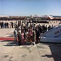 Jacqueline Kennedy arrives in New Delhi, India.jpg