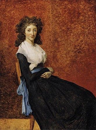 Portrait of Madame Marie-Louise Trudaine - Image: Jacques Louis David Madame Trudaine WGA6068