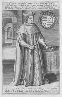William de Croÿ (bishop) French priest
