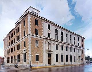 James A. Walsh United States Courthouse historic post office and courthouse building located at Tucson at Pima County, Arizona