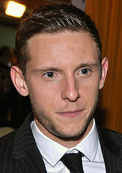 Jamie Bell tydens die première van The Adventures of Tintin in 2011