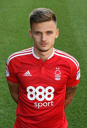 Jamie Paterson (footballer, born 1991) - Paterson with Nottingham Forest in 2016