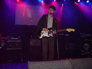 Jamie T - Jamie T live at ABC Glasgow in 2007