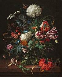 Хем, Ян Давидс де: Vase of Flowers