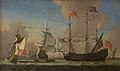 Jan Karel Donatus van Beecq - English Warships at Sea in a Fresh Breeze - KMSsp657 - Statens Museum for Kunst.jpg