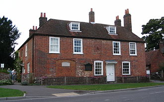 Jane Austen - Cottage in Chawton where Austen lived during her last eight years of life, now Jane Austen's House Museum