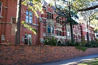 Helen Garner - Janet Clarke Hall, where Garner resided in the 1960s as a student of the University of Melbourne