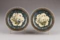 Japanska blommiga tallrikar från 1800-talet - Hallwylska museet - 96039.tif