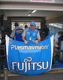 Jason Bright Australian racing driver