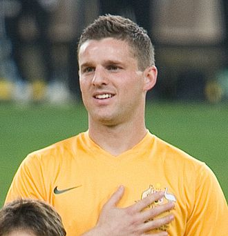 Jason Culina - Culina playing for the Socceroos
