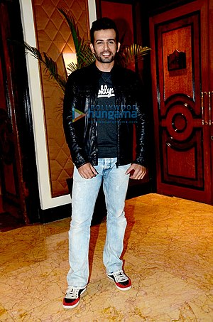 Jay Bhanushali at the launch of 'The Voice India Kids' reality show.jpg
