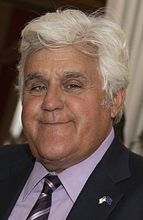 Jay Leno American television host and comedian
