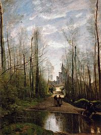 Jean-Baptiste-Camille Corot - The Church of Marissel, near Beauvais - WGA5294.jpg
