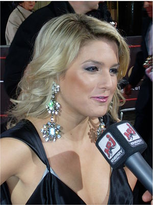 Jeanette Biedermann - Biedermann at Diva Award in 2008