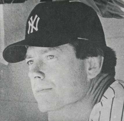Jeff Torborg Yankees postcard (cropped)
