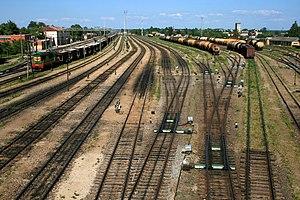 Transport in Latvia - Jelgava railway station