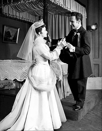 The Fourposter - Jessica Tandy and Hume Cronyn as Agnes and Michael, 1952