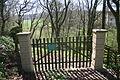 Jewish cemetery friedhof doerrebach gate.jpg