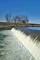 Jez u malé vodní elektrárny u Troubek, Tovačov, okres Přerov (02).jpg