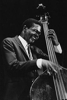 Jimmy Garrison American jazz double bassist (1934-1976)