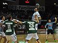 Joan Cañellas throwing 1 DKB Handball Bundesliga HSG Wetzlar vs HSV Hamburg 2014-02 08.jpg