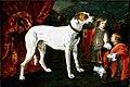 Joannes Fijt mogelijk Erasmus Quellinus (II) - Jongen en dwerg bij een grote hond - Gal.-Nr. 1211 - Staatliche Kunstsammlungen Dresden.jpg