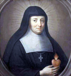 Temple du Marais - Jane Frances de Chantal, the founder of the convent