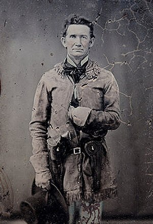 John Salmon Ford - CSA Colonel John S. Ford during the American Civil War