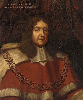 John Bysse - Portrait by James Thornhill