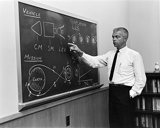 Apollo program - John Houbolt explaining the LOR concept